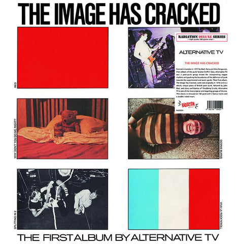 ALTERNATIVE TV - The Image Has Cracked LP