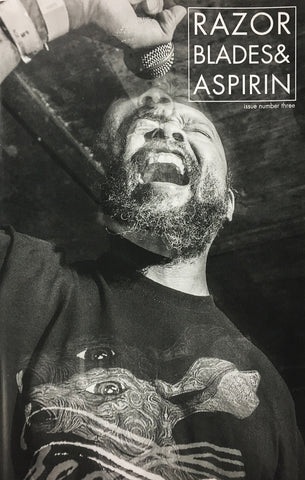 RAZORBLADES & ASPIRIN PHOTO ZINE - Issue Three