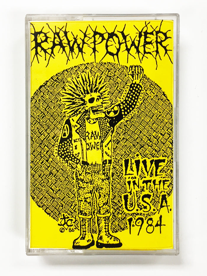 RAW POWER - Live In The USA 1984 CS