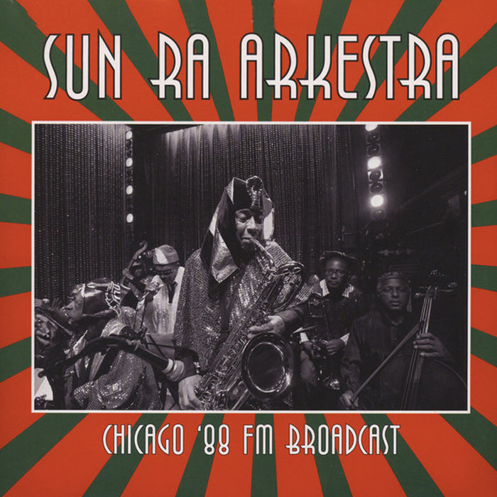 SUN RA ARKESTRA - Chicago '88 Fm Broadcast Double LP