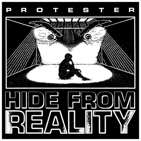 PROTESTER - Hide From Reality LP (Blue Vinyl)