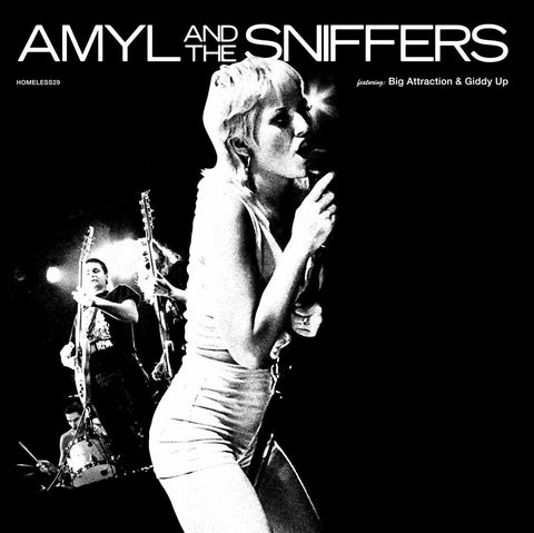 AMYL AND THE THE SNIFFERS - Big Attraction & Giddy Up LP (Bain Marie Blue Vinyl)