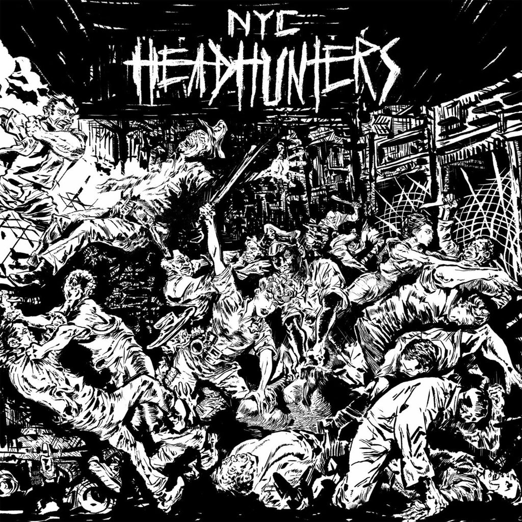 NYC HEAD HUNTERS - The Rage Of The City 7""