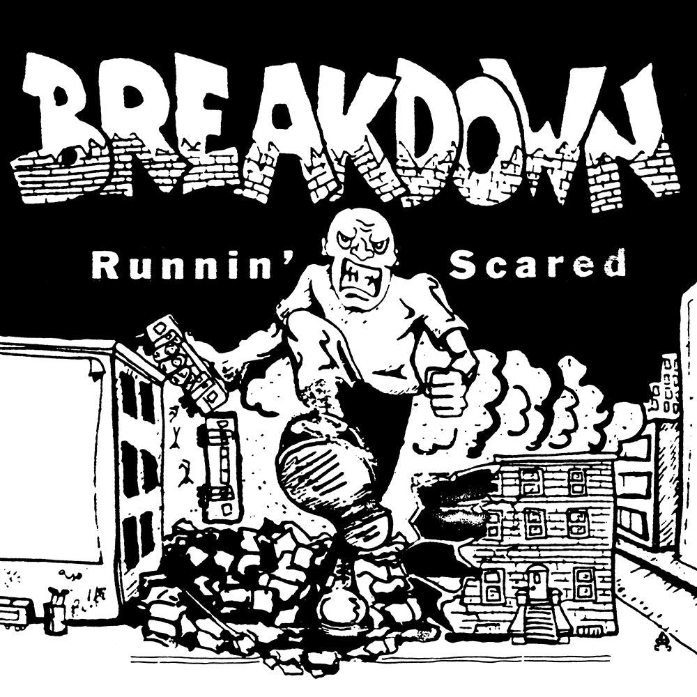 BREAKDOWN - Runnin' Scared LP