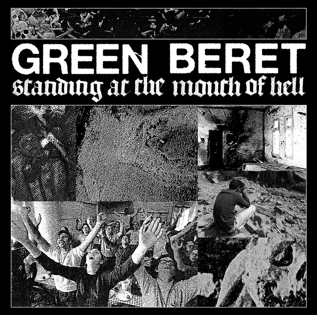 "GREEN BERET - Standing At The Mouth Of Hell 12"" EP"