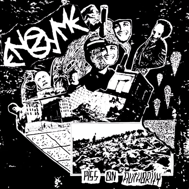 "ENZYME - Piss On Authority 7"" EP"