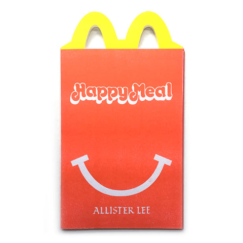 ALLISTER LEE - Happy Meal Zine