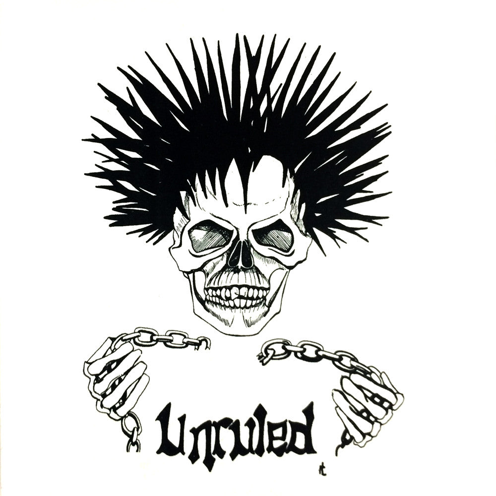 UNRULED - Time Is Running Out 7""