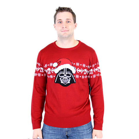 Santa Hat Darth Vader Christmas Sweater
