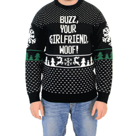 Buzz Your Girlfriend Woof! Sweater