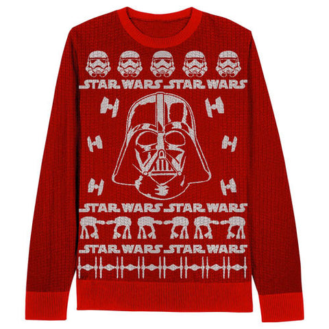 Red Darth Vader Star Wars Sweater