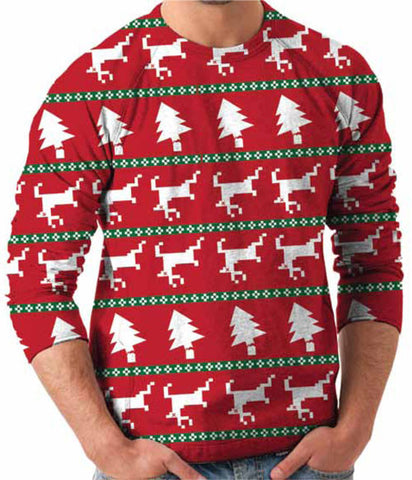 Dead Reindeer Sweater