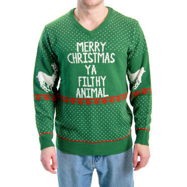 Green Filthy Animal Sweater