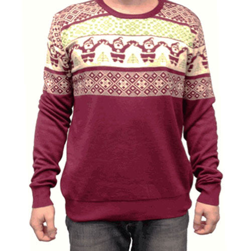 Santa Claus Christmas Tree Sweater