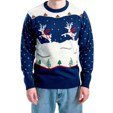 Navy Step Brothers Sweater