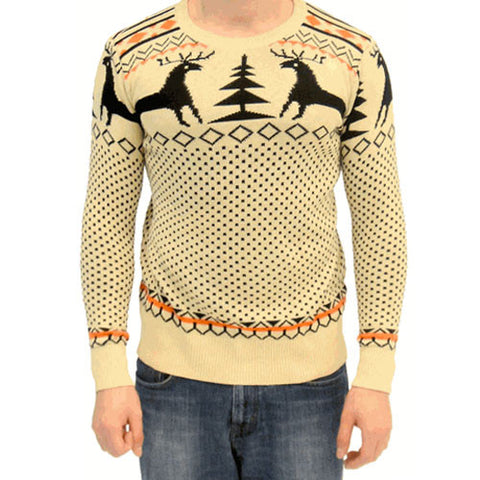 Beige Ugly Christmas Sweater