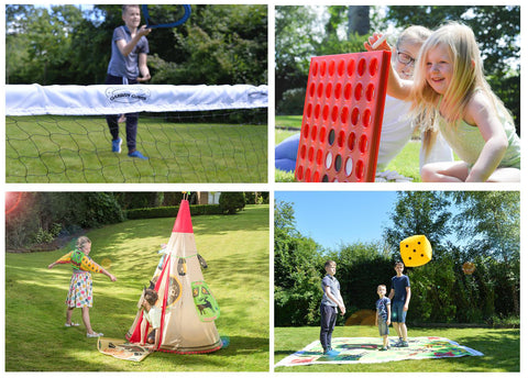 Lots more smiles in the sunshine with Traditional garden games