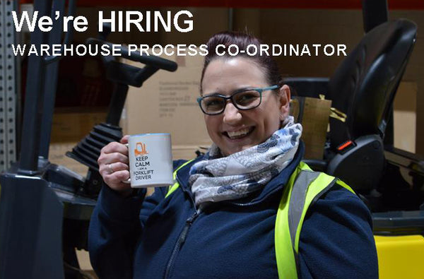 We're looking to hire a temporary Warehouse Process Co-ordinator