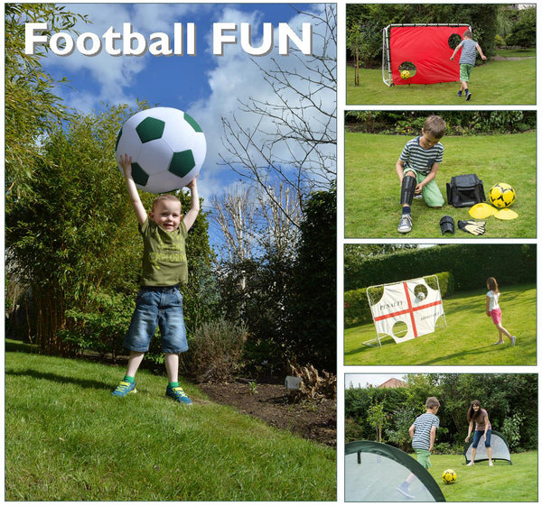 World Cup Football with Traditional Garden Games