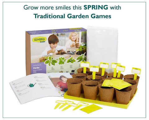 Sembra sow and grow kits from Traditional Garden Games