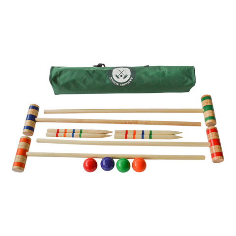 Traditional Garden Games Junior Croquet Set