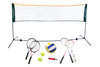 3 in 1 Badminton Volleyball & Tennis Playset with 5m Net