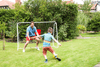Traditional Garden Games Foldable Football Goal
