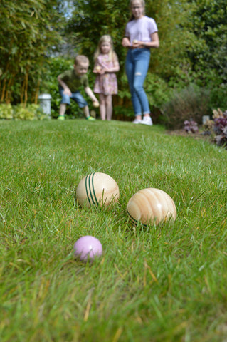 Traditional Garden Games NEW Wooden Boule
