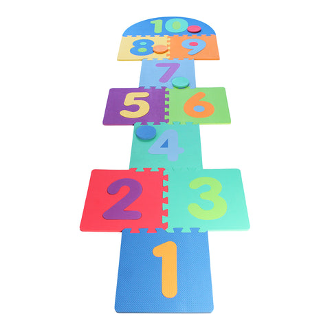 Traditional Garden Games Garden Hopscotch