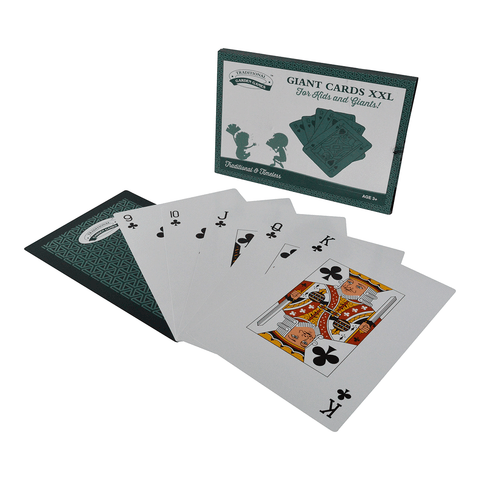 Traditional Garden Games NEW XXL Giant Playing Cards
