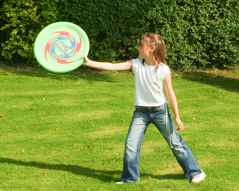 Traditional Garden Games Jumbo Flying Disc