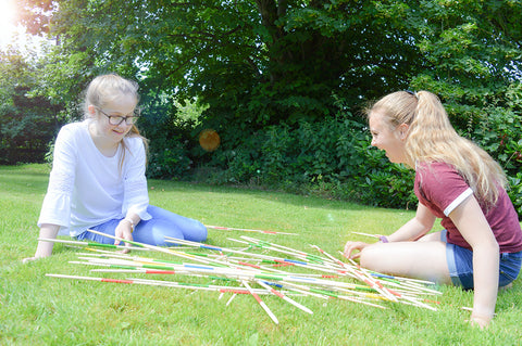 Traditional Garden Games Pick Up Sticks