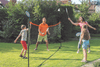 Traditional Garden Games Badminton Volleyball & Tennis Play 3m Net