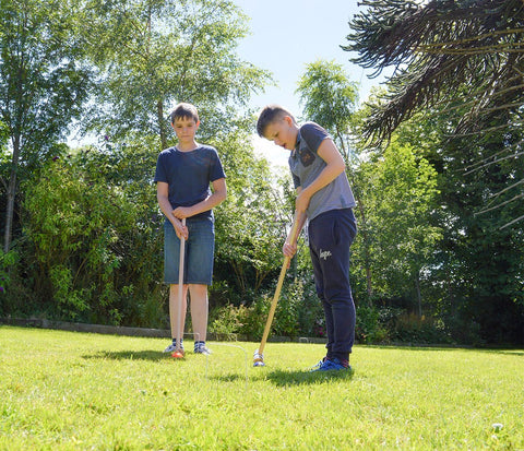 Traditional Garden Games Family Croquet Set