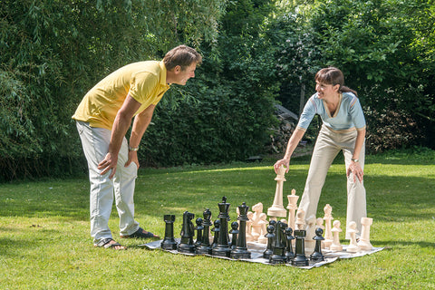 Traditional Garden Games Giant Garden Chess 43cm