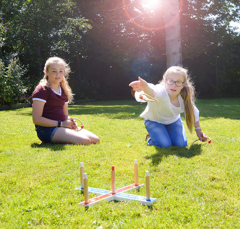 Traditional Garden Games Garden Quoits