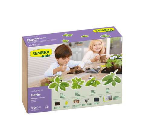 Traditional Garden Games Sembra BIG Herb Kit