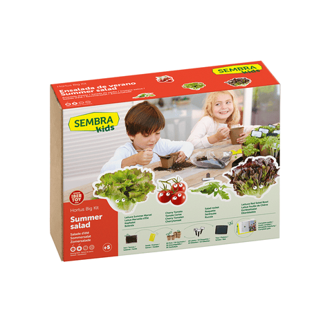 Traditional Garden Games Sembra BIG Summer Salad Kit
