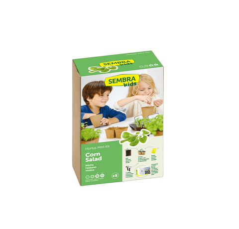 Traditional Garden Games Sembra Corn Salad (Lambs Lettuce) Kit
