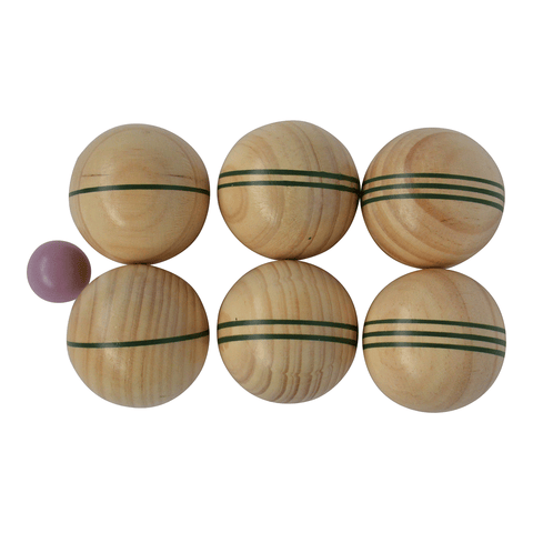 Traditional Garden Games Wooden Boule