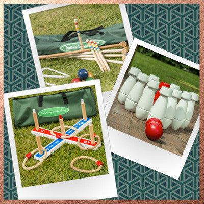 Bundle - Family Croquet, Quoits, Skittles