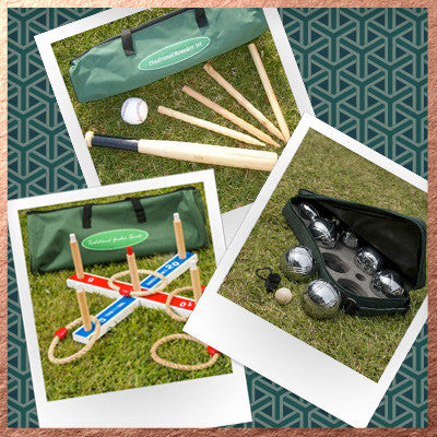 Bundle - Quoits, Boules, Rounders