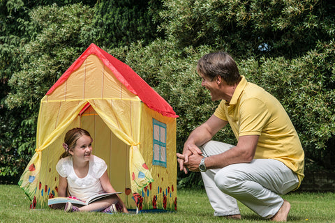 Traditional Garden Games Ladybird House Play Tent