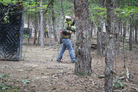 woodsball paintball in charlotte north carolina