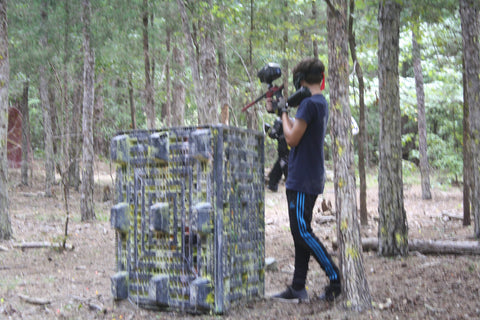 paintball field near charlotte north carolina