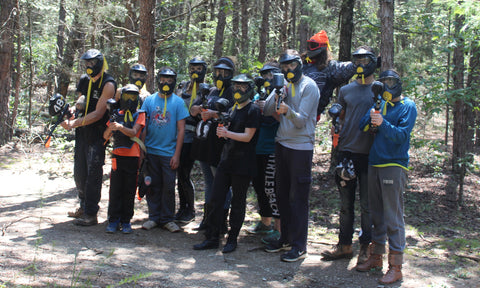 paintball team in charlotte north carolina