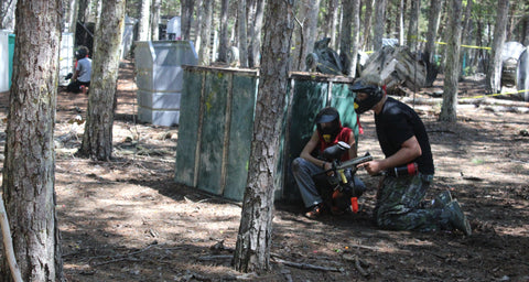 paintball game at boss paintball fields charlotte nc