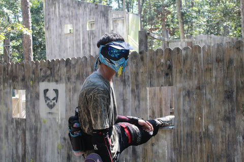 stretching at boss paintball near charlotte nc