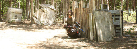 winning the castle game at boss paintball fields in locust north carolina