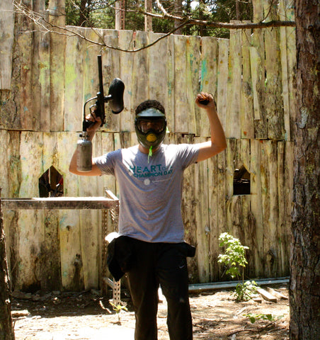 the winner of the castle game at boss paintball charlotte nc